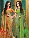 image of Dashing Combo of 2 Designer Printed Sarees