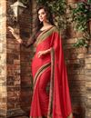 picture of Captivating Combo of 2 Sarees In Chiffon Fabric