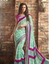 photo of Soothing Chiffon Fabric Combo of 2 Sarees