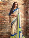 picture of Soothing Chiffon Fabric Combo of 2 Sarees