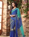 picture of Riveting Chiffon Fabric Combo of 2 Designer Sarees