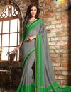 picture of Enthralling Chiffon Fabric Party Wear Sarees Combo