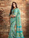 picture of Enchanting Chiffon Fabric Combo of 2 Designer Sarees
