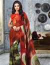 picture of Gorgeous Set of 2 Casual Printed Georgette Sarees