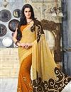 photo of Vibrant Casual Wear Fancy Georgette Combo of 2 Saris