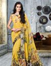picture of Casual Wear Georgette Printed Saree Combo of 2