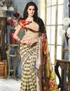 picture of Radiant Combo of 2 Sarees in Georgette Fabric
