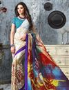 picture of Vibrant Casual Wear Fancy Georgette Combo of 2 Saris