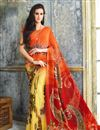 photo of Casual Wear Georgette Printed Saree Combo of 2