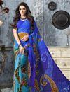 picture of Casual Wear Fancy Georgette Saree Combo of 2