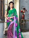 photo of Gorgeous Set of 2 Casual Printed Georgette Sarees