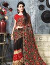 picture of Elegant Set of 2 Casual Printed Georgette Sarees