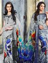 image of Vibrant Casual Wear Fancy Georgette Combo of 2 Saris