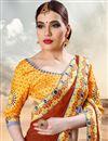 photo of Soothing Violet Color Designer Lehenga Choli In Banarasi Silk Fabric With Digital Print