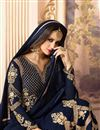 photo of Georgette Embroidered Function Wear Fancy Anarkali Suit