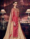 photo of Designer Embroidered Wedding Wear Art Silk Anarkali Dress