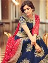 photo of Designer Taffeta Silk Embroidered Fancy Long Anarkali Suit