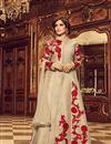 image of Embroidered Long Floor Length Anarkali Salwar Kameez