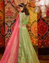 photo of Embroidered Wedding Wear Lehenga Choli