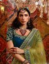 photo of Silk Fabric Sangeet Wear Lehenga