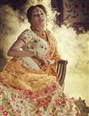 photo of Designer Beige Color Lehenga Choli In Art Silk Fabric