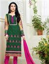 image of Karisma Kapoor Green Georgette Salwar Kameez-13594
