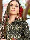 photo of Black Cotton Palazzo Style Pakistani Salwar Suit