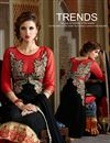 photo of Black Color Designer Party Wear Georgette Salwar Kameez with Embroidery