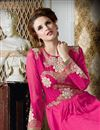 photo of Pink Color Georgette Salwar Kameez with Embroidery
