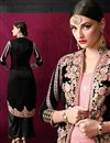 photo of Gorgeous Pink-Black Designer Salwar Kameez