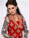 photo of Ravishing Red Color Designer Salwar Kameez
