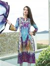 image of Gorgeous Long Length Cotton Salwar Kameez