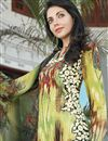 photo of Fabulous Green Color Long Length Cotton Suit
