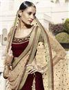 photo of Designer Wedding Wear Fancy Lehenga Choli In Velevt Fabric