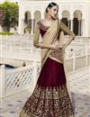 image of Designer Wedding Wear Fancy Lehenga Choli In Velevt Fabric