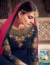 photo of Designer Embroidered Floor Length Fancy Anarkali Suit In Georgette