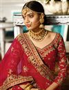 photo of Wedding Wear Satin Maroon Designer Lehenga With Heavy Work