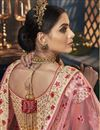 photo of Art Silk Fabric Designer Bridal Lehenga With Embroidery Work On Beige