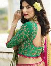 photo of Eid Special Wedding Function Wear Satin Silk Fabric Embroidered Yellow Color Designer Lehenga Choli