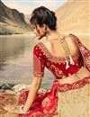 photo of Fancy Fabric Embroidered Cream Color Party Wear Lehenga With Enchanting Blouse