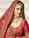 photo of Best Selling Jasmin Bhasin Art Silk Embroidered Wedding Wear Lehenga Choli