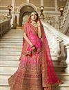 image of Best Selling Jasmin Bhasin Art Silk Embroidered Wedding Wear Lehenga Choli