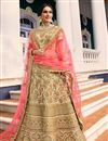 image of Surbhi Jyoti Embellished Lehenga Choli For Functions In Fancy Fabric