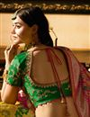 picture of Fucntion Wear Fancy Yellow Lehenga Choli In Silk Fabric With Work