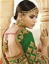 photo of Banarasi Silk Rust Designer Saree With Embroidery Work