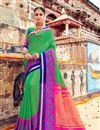 image of Function Wear Fancy Art Silk Green Designer Saree