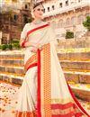 image of Designer Fancy Traditional Saree in Art Silk