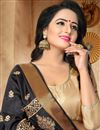 photo of Graceful Art Silk Black Traditional Fancy Saree