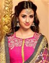 photo of Disha Patani Black Color Banglori Digital Print Embroidered Lehenga Choli