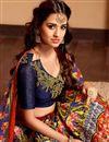photo of Disha Patani Fancy Digitial Print Red Color Banglori Embellished Lehenga